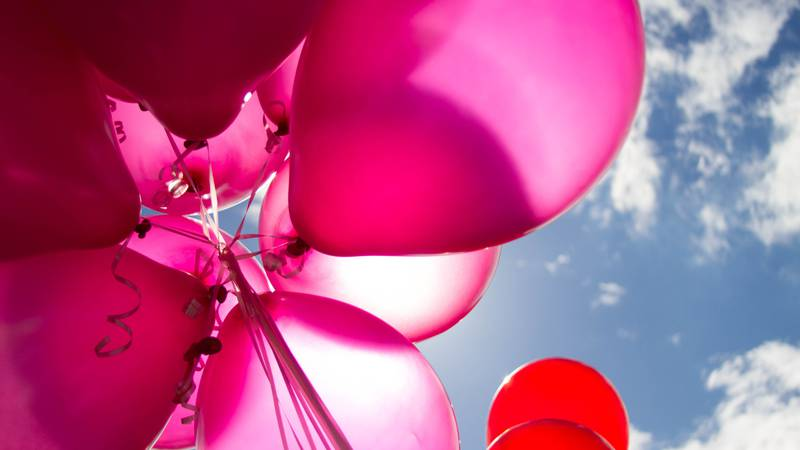 Helium shortage could impact availability of Valentine's Day balloons.