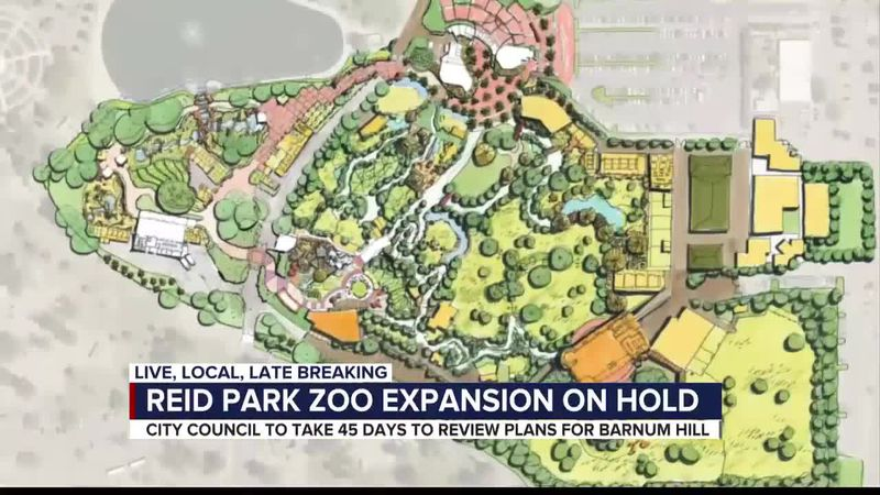 Reid Park Zoo expansion on hold