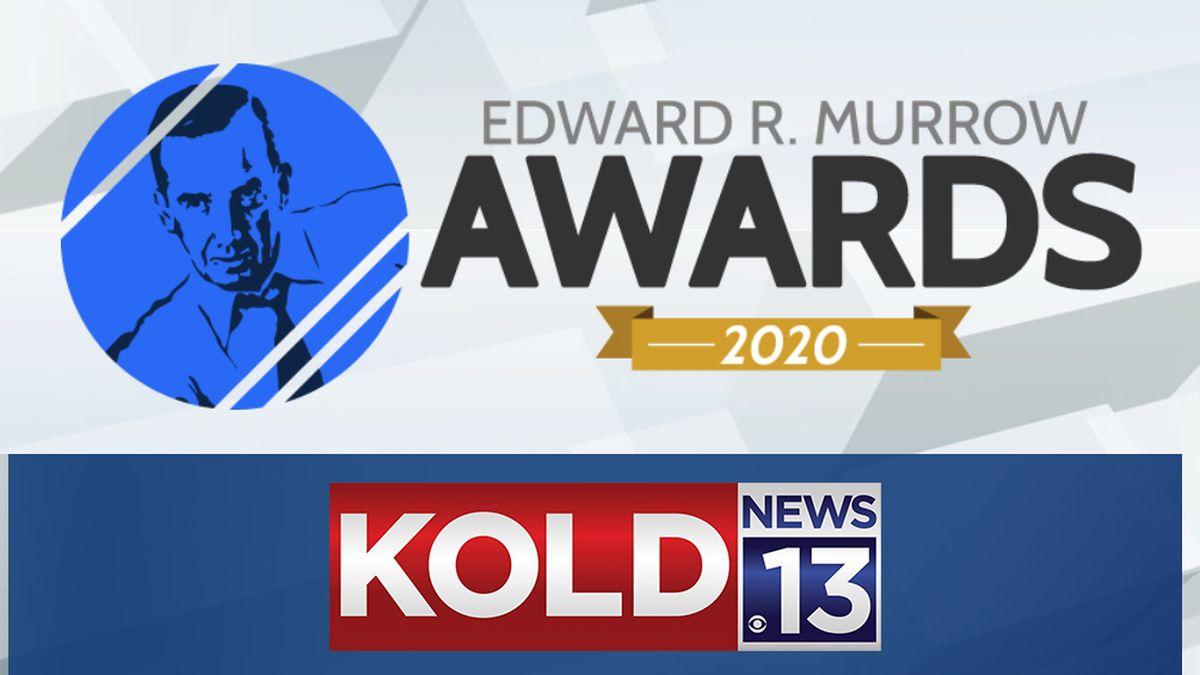 KOLD News 13 won two regional Murrow Awards.