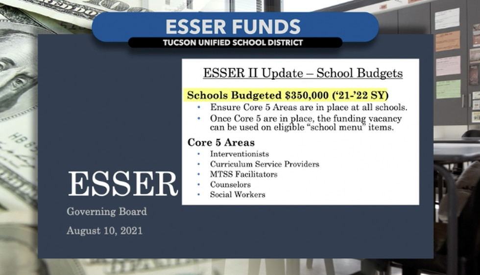 TUSD budgets $350,000 for each school