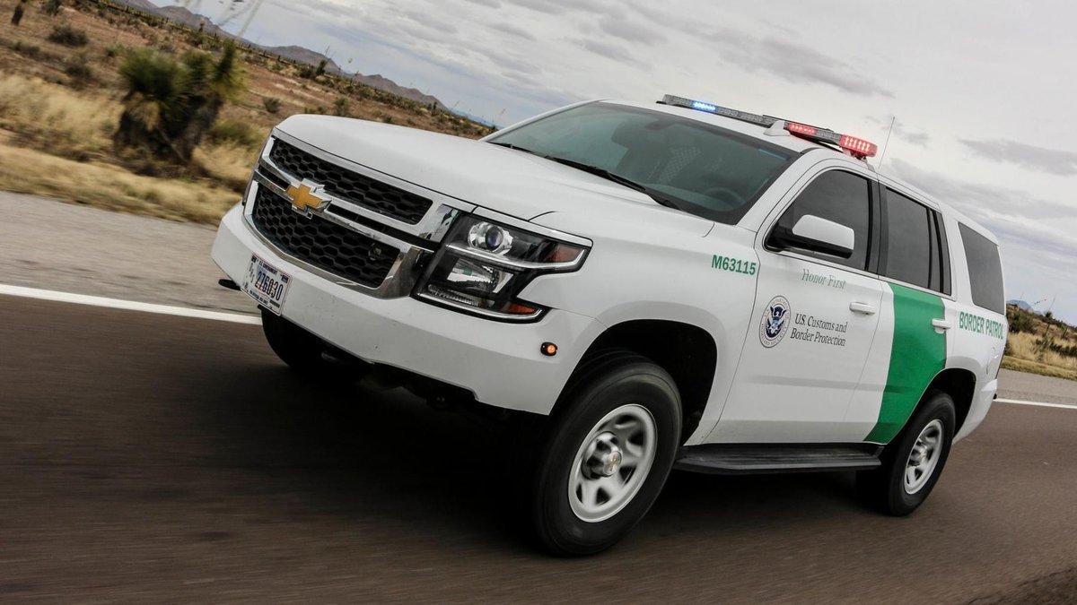 U.S. Border Patrol vehicle