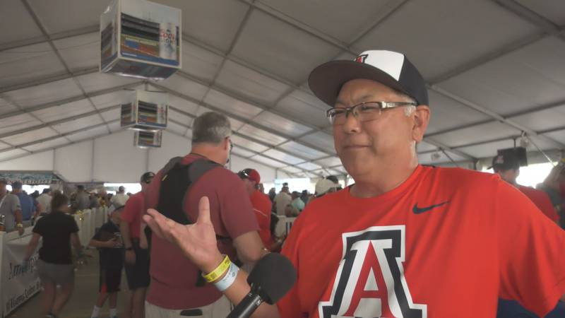 On Father's Day weekend, a dad took a cross-country trek to watch his son play on College...