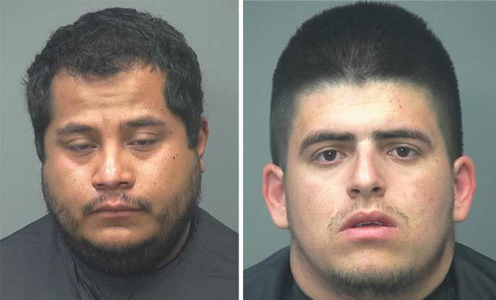 Christian Zuniga (left) and Alexis Obeso (Source: Sierra Vista Police Department)