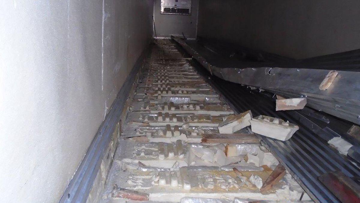 The seizure is the largest methamphetamine seizure in Arizona ports history.