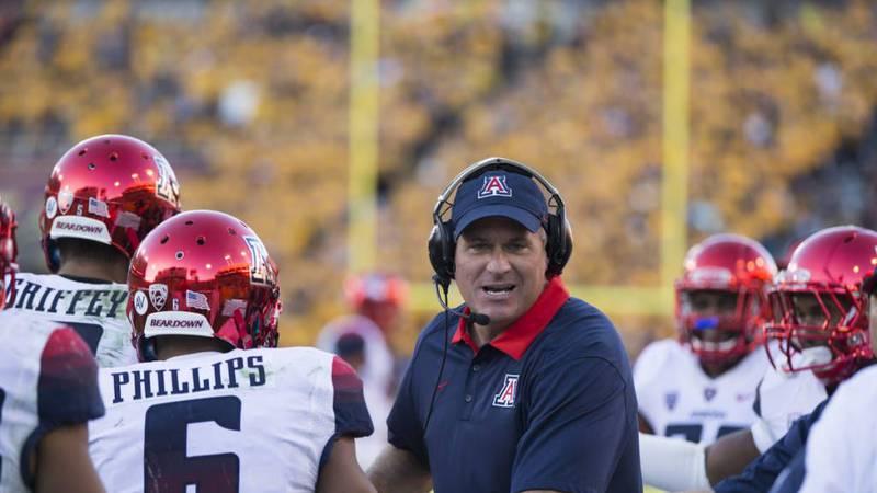 Former University of Arizona head football coach Rich Rodriguez. (Source: Emily Gauci / Arizona...