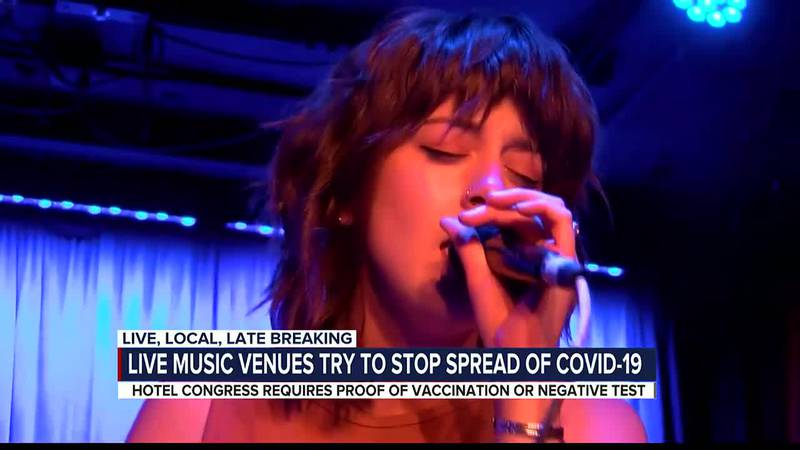 Live music venues try to stop spread of COVID-19