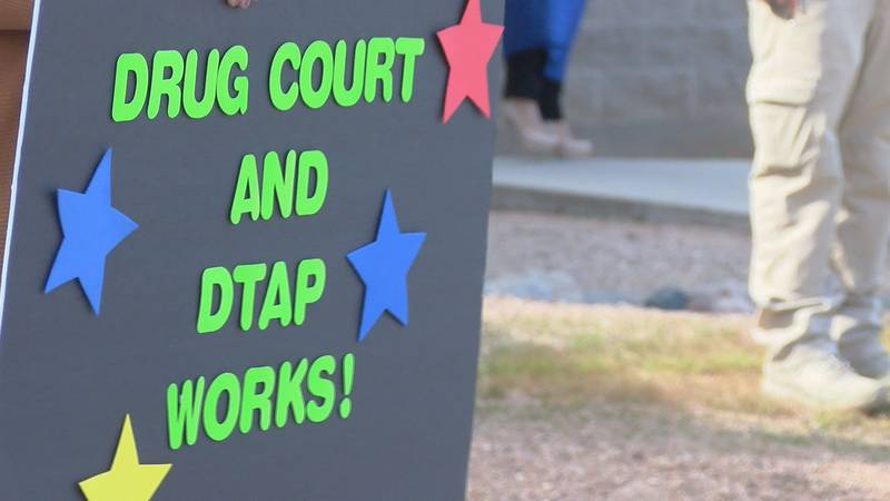 Pima County residents celebrated a special graduation from Pima County's Drug Court and...