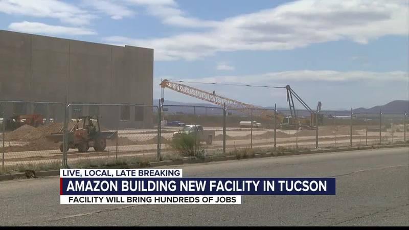 Amazon building new facility in Tucson