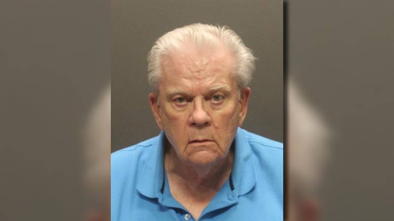 Robb Baerman, 83, faces charges of luring a minor for sexual exploitation and voyeurism.