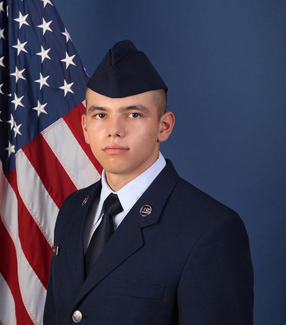 U.S. Air Force Airman Louis A. Vargas (Source: U.S. Air Force)