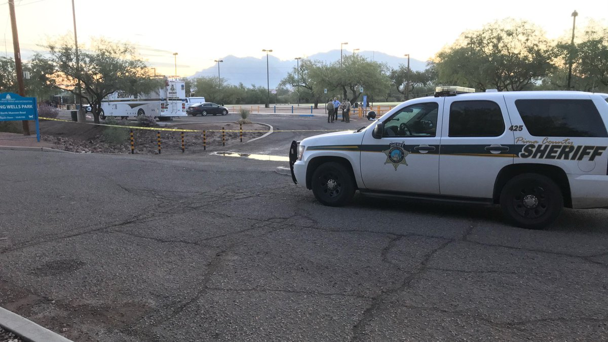 Pima County Sheriff's Department investigators are at Flowing Wells Park, 5510 N. Flowing Wells...