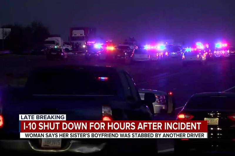 1-10 shut down for hours after incident