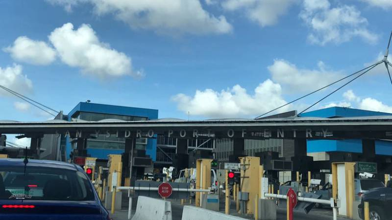 The port of entry in San Ysidro, CA, is one of the country's busiest border crossings. (Source:...