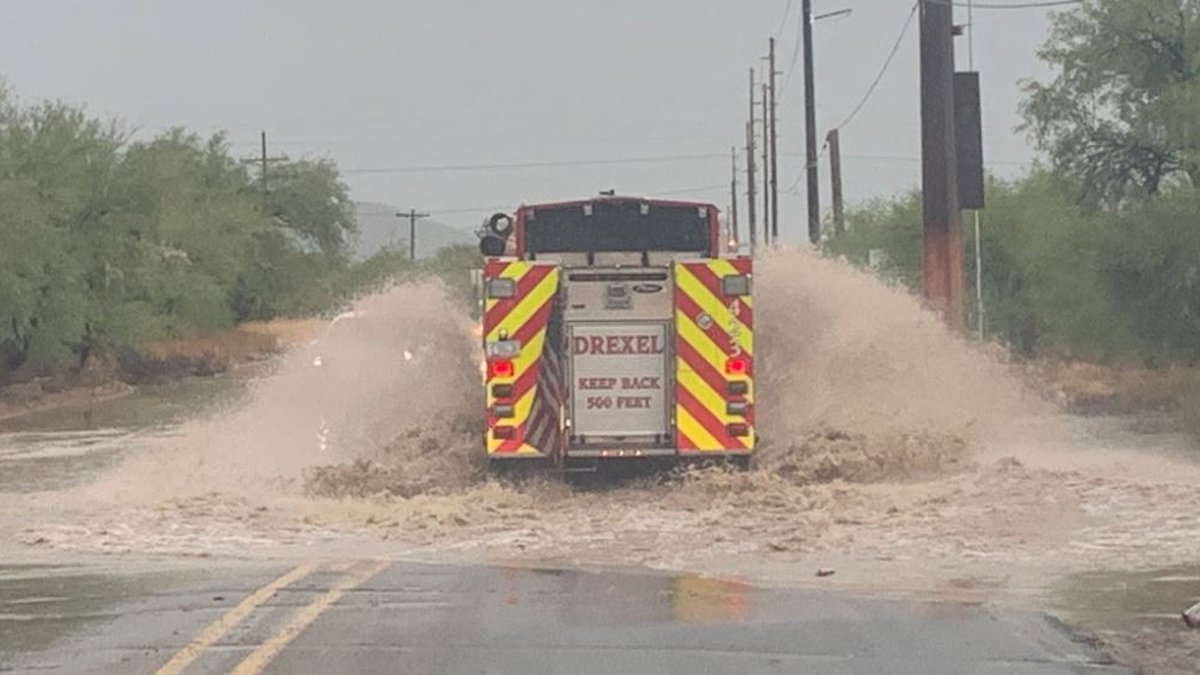 Fire crews were kept busy responding to multiple requests for swift-water rescues on Thursday,...