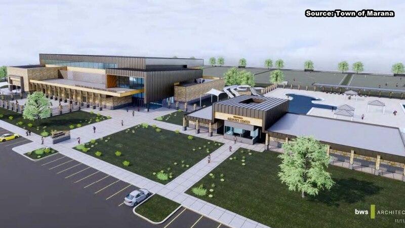 New development could be built near Marana Main Street and Bill Gaudette Drive.