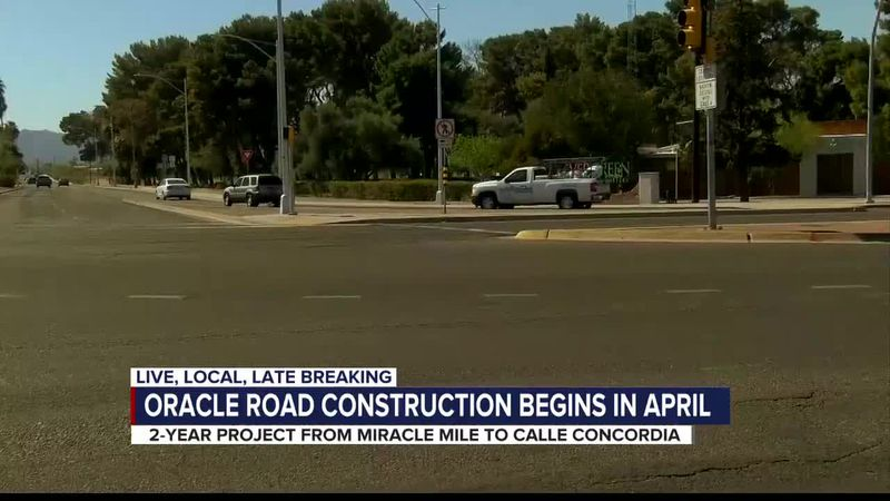 Orcacle Road construction starting soon