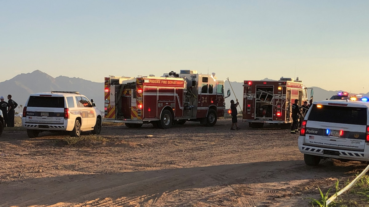 First responders went into the water and were able to get the child out after the crash on...