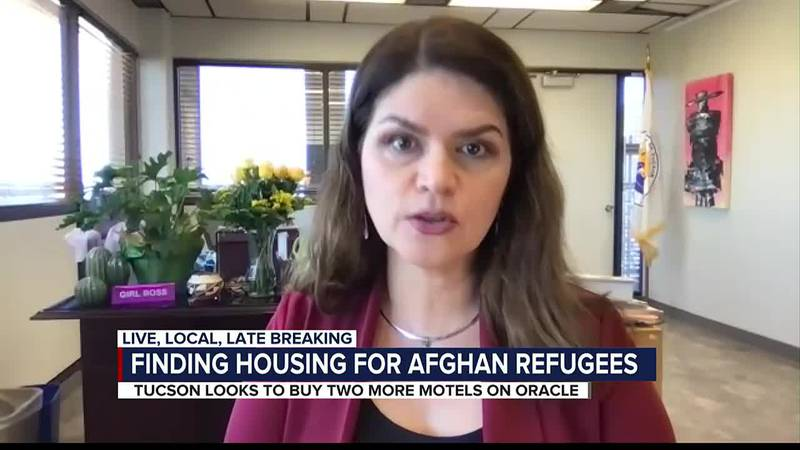 Mayor Romero gives update on Afghan refugees expected to arrive in Tucson