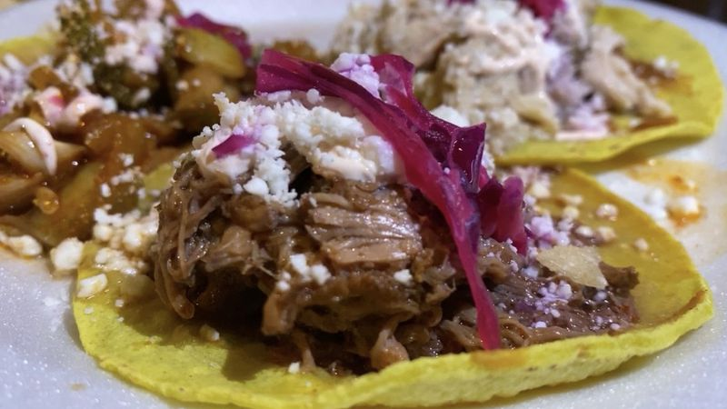 """Tacopalooza was an event created by Jose """"Che"""" Zavala and featured three delicious tacos on the..."""