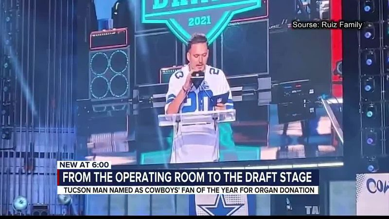 Tucson native announces pick at 2021 NFL Draft