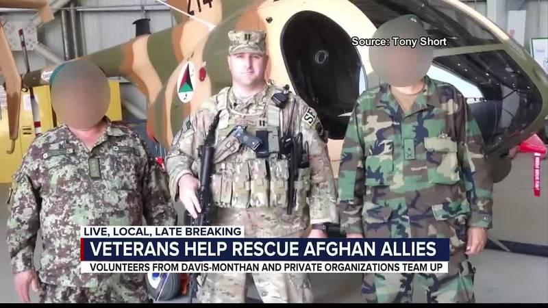 Veterans help rescue Afghan allies