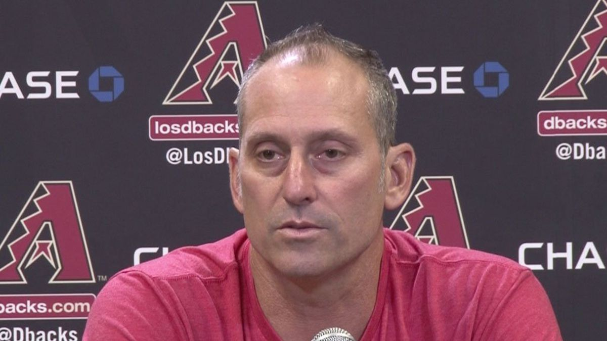 """Diamondbacks manager Torey Lovullo believes is team is resilient and can rebound. """"They make..."""