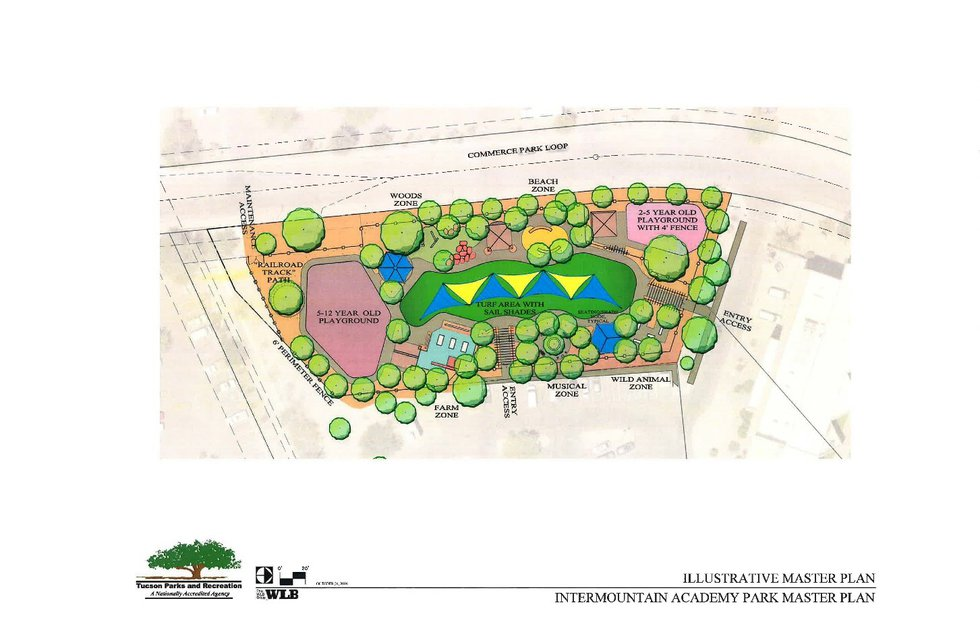 The City of Tucson and Intermountain Centers are partnering to develop a park specific to those...