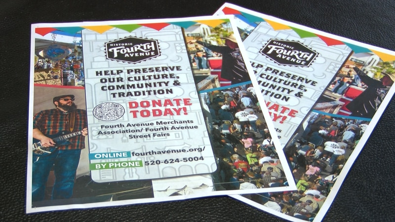 Fourth Avenue Merchants Association is asking the community for financial help