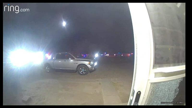 Scene video of Cochise County officer-involved shooting