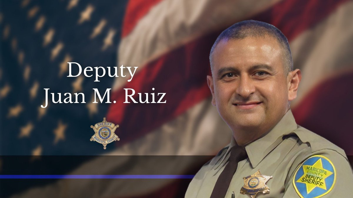Maricopa County deputy Juan M. Ruiz is on life support and his organs will be donated. Ruiz was...