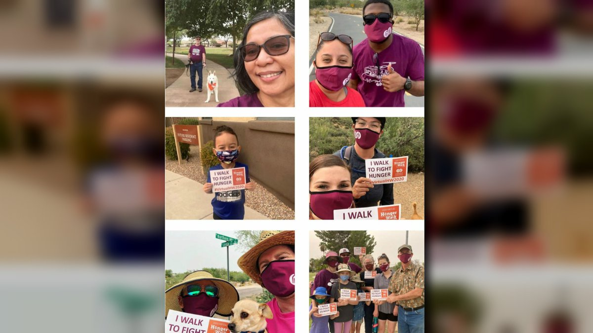 HungerWalk, which is offering a virtual option for the second year, is slated for Saturday.