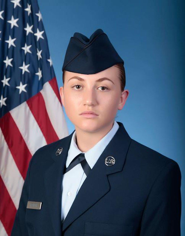 U.S. Air Force Reserve Airman 1st Class Audra R. Poarch (Source: U.S. Air Force)