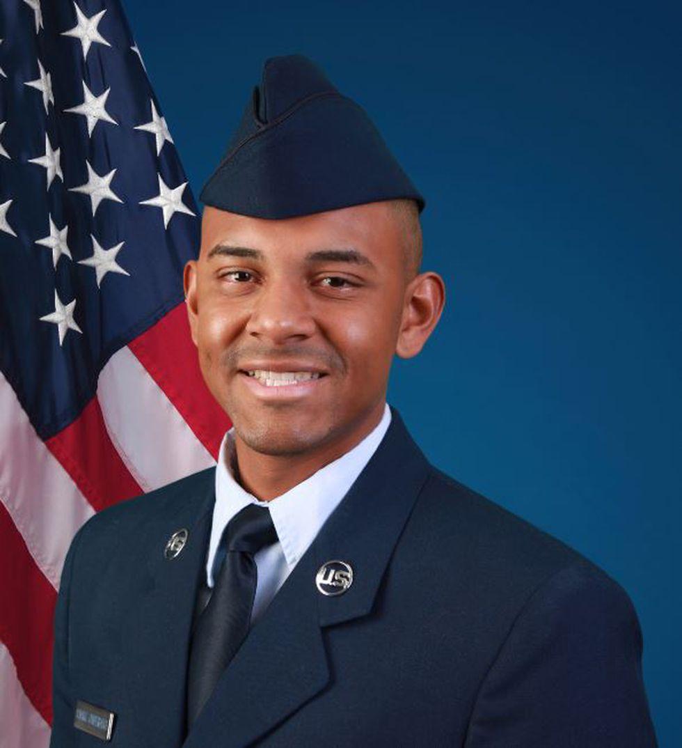 U.S. Air Force Airman Sean A. Almaraz Cumberbatch (Source: U.S. Air Force)