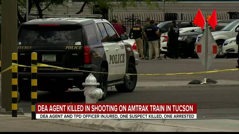 One DEA agent was killed while another was injured along with an officer from the Tucson Police...