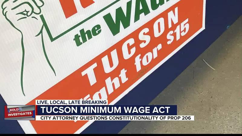 KOLD Investigates: Tucson minimum wage act
