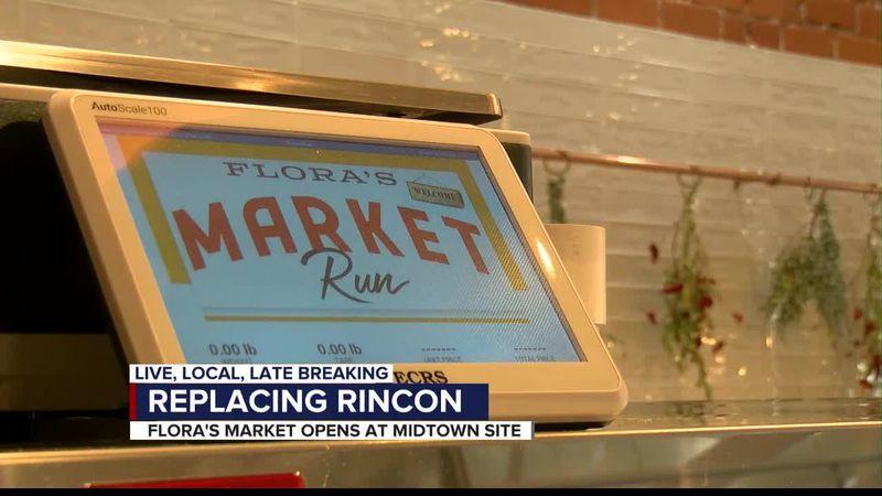Flora's market opens
