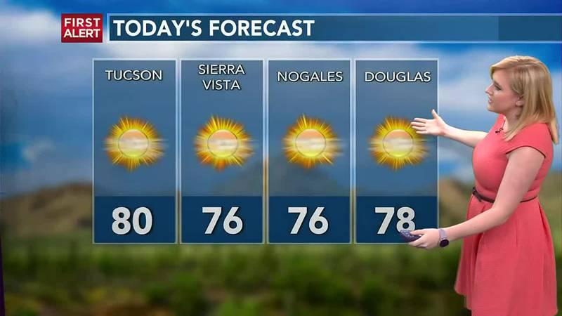 KOLD First Alert forecast, Tuesday afternoon, Oct. 19