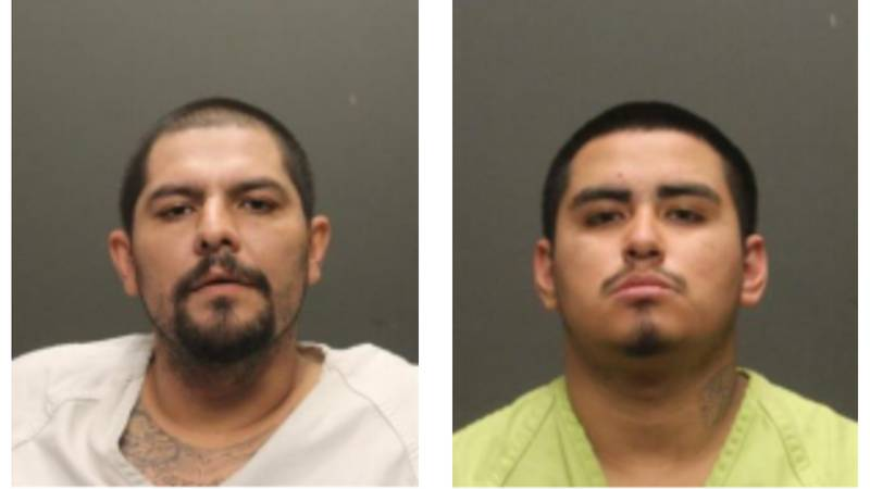 From left: Fernando Valenzuela, 34, and Angel Rendon, 17, were charged with conspiracy to...