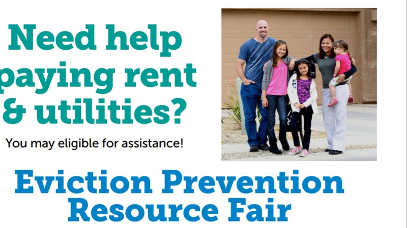 People facing possible evictions can connect with different community resources that may help...