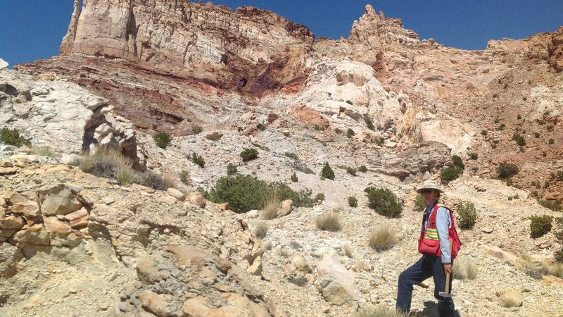 Dr. Isabel Barton, an assistant professor of mining and geological engineering at the...
