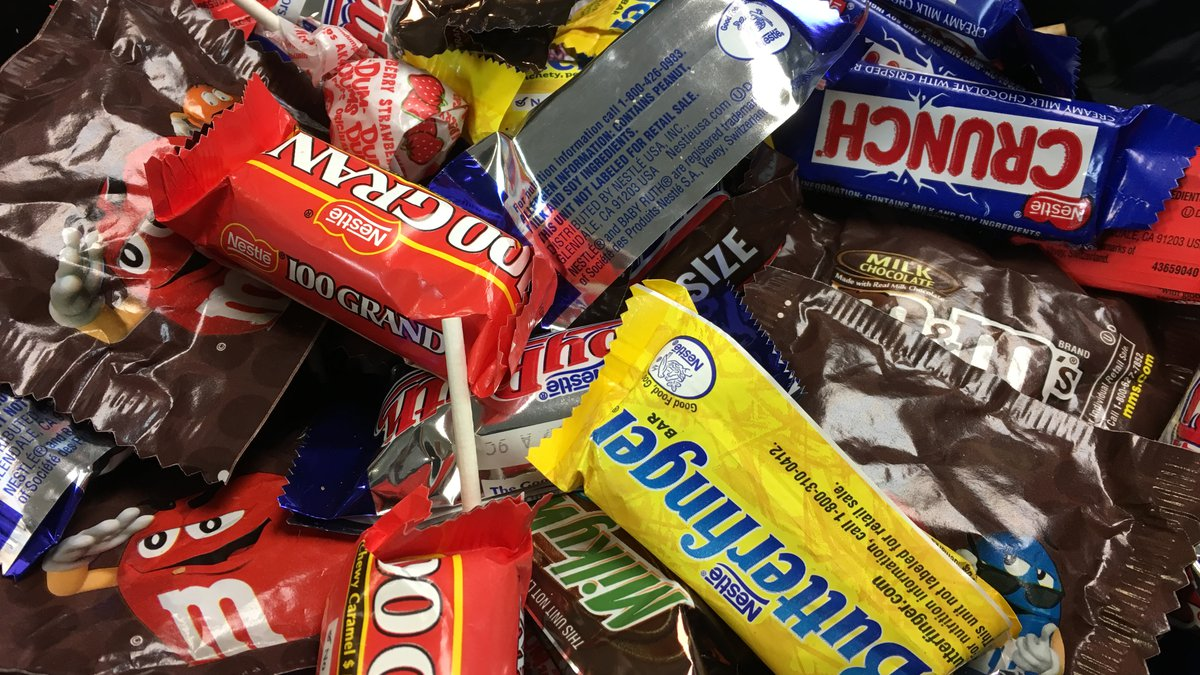 The City of Tucson is looking for donations of individually wrapped candy.