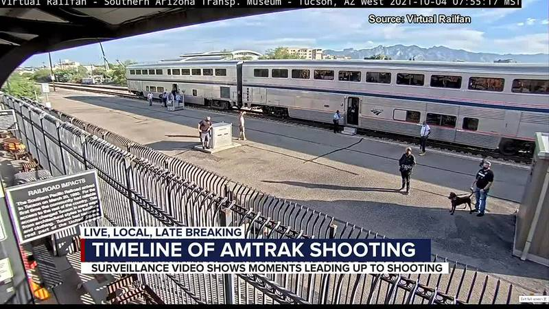Timeline of Amtrak shooting
