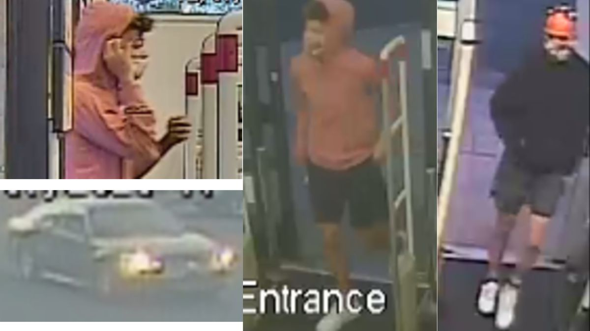 Two people pictured above are accused of breaking into an Oro Valley teacher's car, stealing...