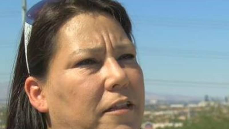 Melissa Sanchez, mother of Savannah Nicole Sanchez, a victim in the mass shooting in Las Vegas....