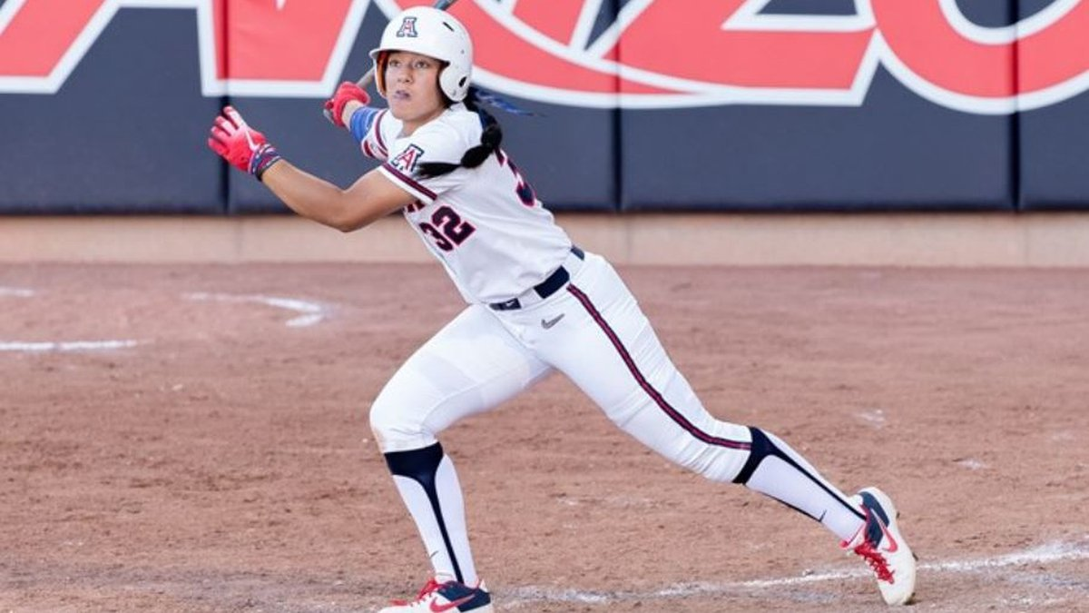 Alyssa Palomino-Cardoza went 2-for-3 with two RBI in the Wildcats 5-2 win over Ole Miss.