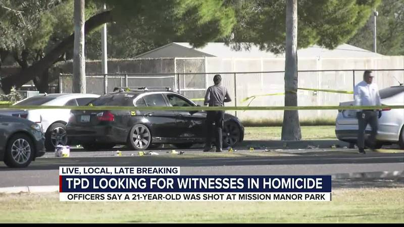 TPD looking for witnesses in homicide
