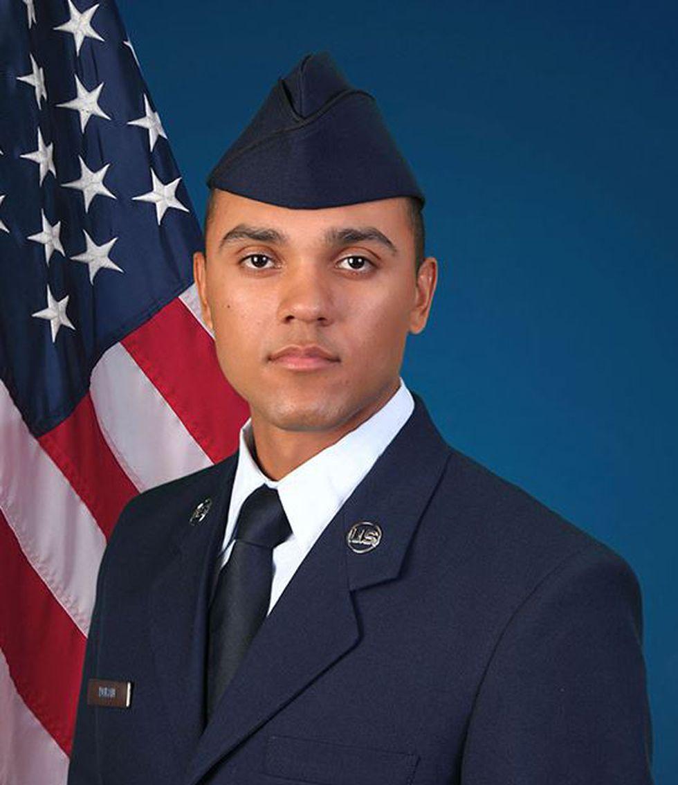U.S. Air Force National Guard Airman Julio C. Duran Jr. (Source: U.S. Air Force)
