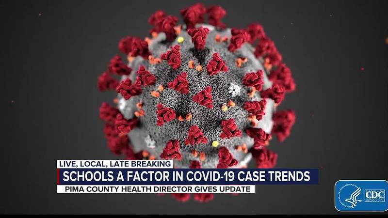 Schools a factor in COVID-19 case trends