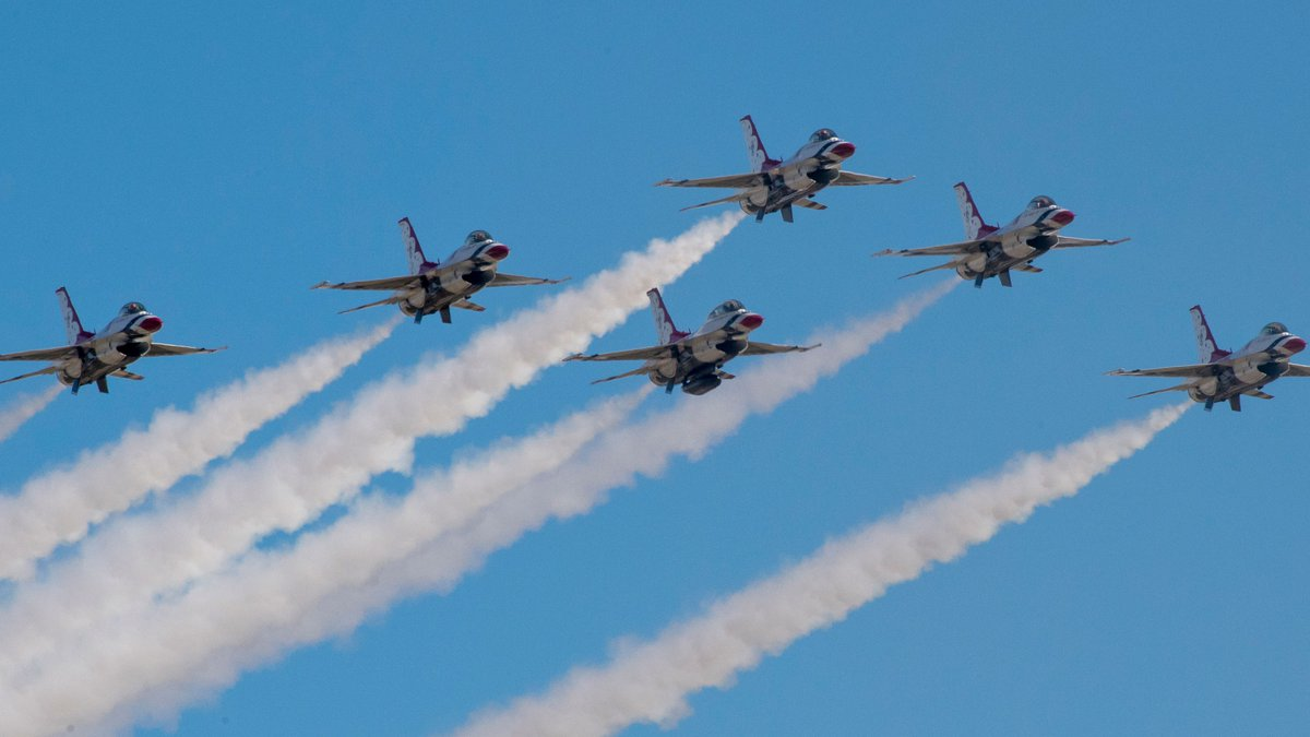 The Air Force's demonstration squadron, Thunderbirds, will perform at Davis-Monthan Air Force...