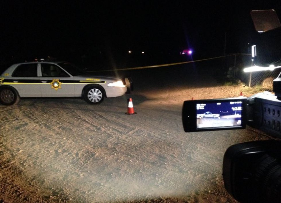 PCSD on scene of deputy involved shooting. (Source: Tucson News Now)